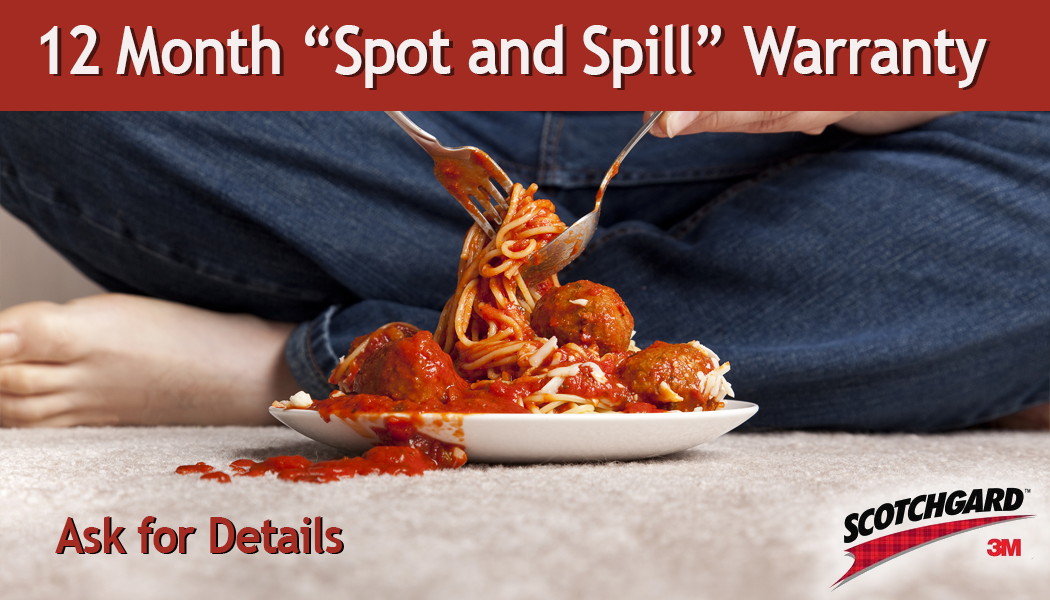12 month spot and spill warranty